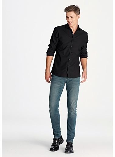 Mavi Erkek  Marcus Mavi Black Jean Pantolon 35129616 Mavi